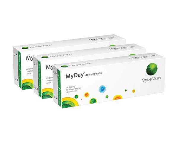 MyDay contact lenses - MyDay 90 Pack