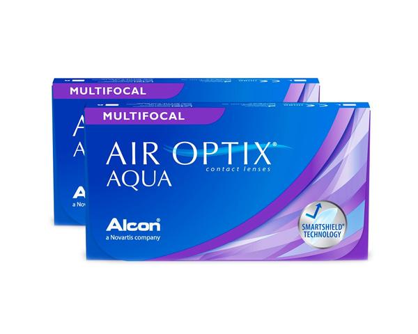 Air Optix contact lenses - Air Optix Aqua Multifocal 6 Pack