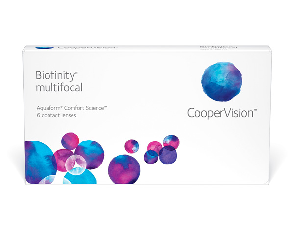 Biofinity contact lenses - Biofinity Multifocal 6 pack