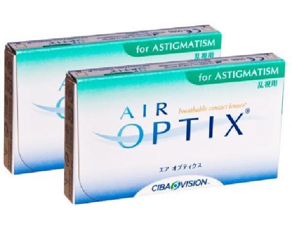 Air Optix kontaktlinser – Air Optix for Astigmatism 6 linser