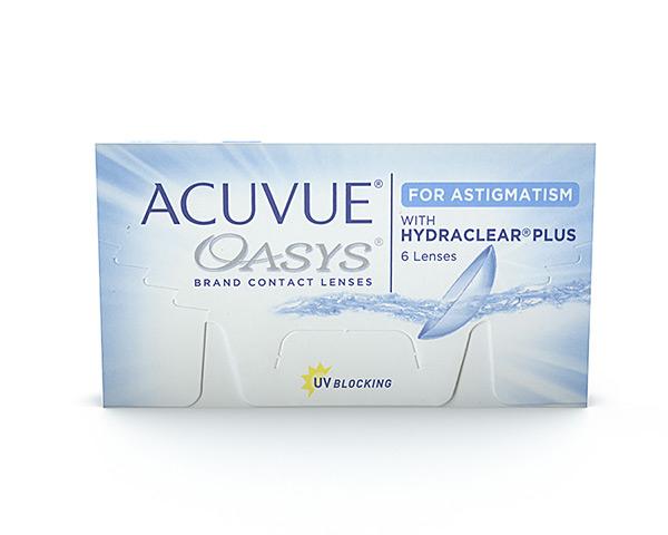 Acuvue kontaktlinser – Acuvue Oasys for Astigmatism