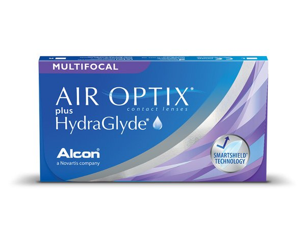 Air Optix kontaktlinser – Air Optix Plus HydraGlyde Multifocal