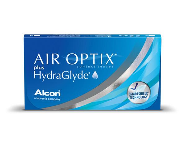 Air Optix kontaktlinser – Air Optix Plus HydraGlyde