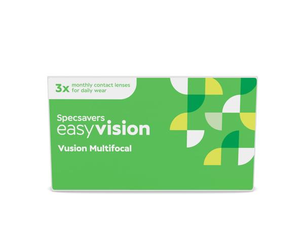 easyvision kontaktlinser – easyvision Vusion Multifocal