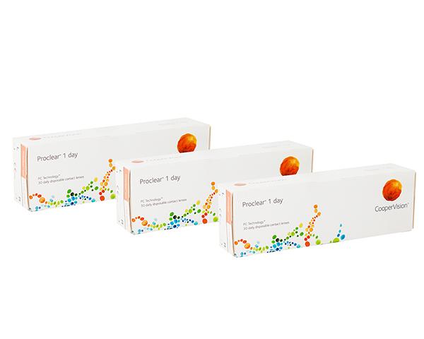 Proclear kontaktlinser – Proclear 1 Day 90 linser